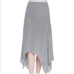 Joie asymmetrical midi skirt